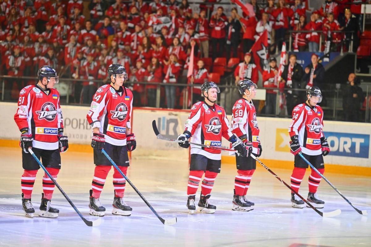 Хоккейный клуб «Донбасс» одержал победу во втором раунде Континентального кубка