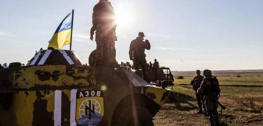 Под Мариуполем полк «Азов» проводит военные учения